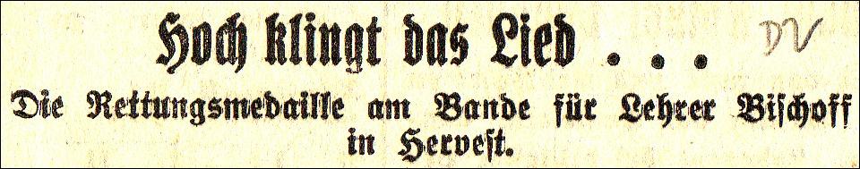 Zeitungstitel vom 27. März 1931