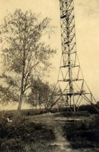 Bismarckturm am Freudenberg 1947