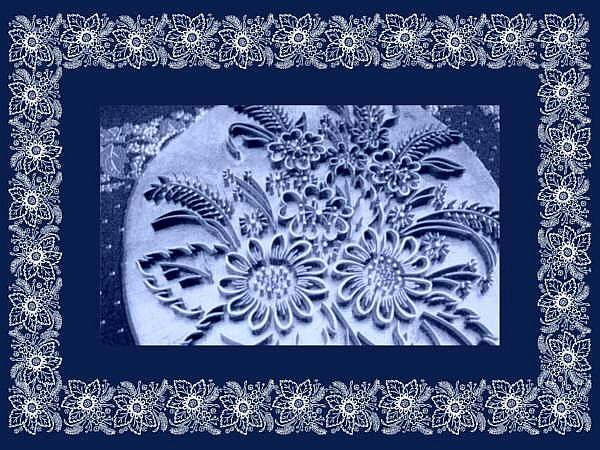 Blaufärberei, Muster