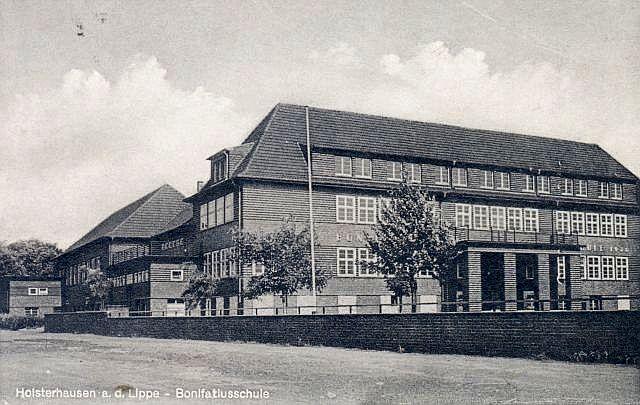 Bonifatiusschule (Postkarte)
