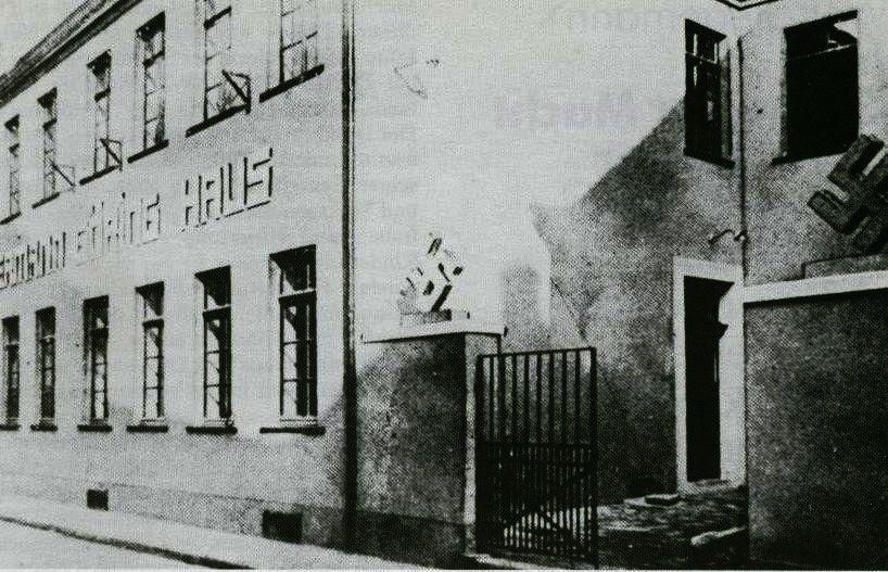 Braune Haus der NSDAP in der Lippestraße