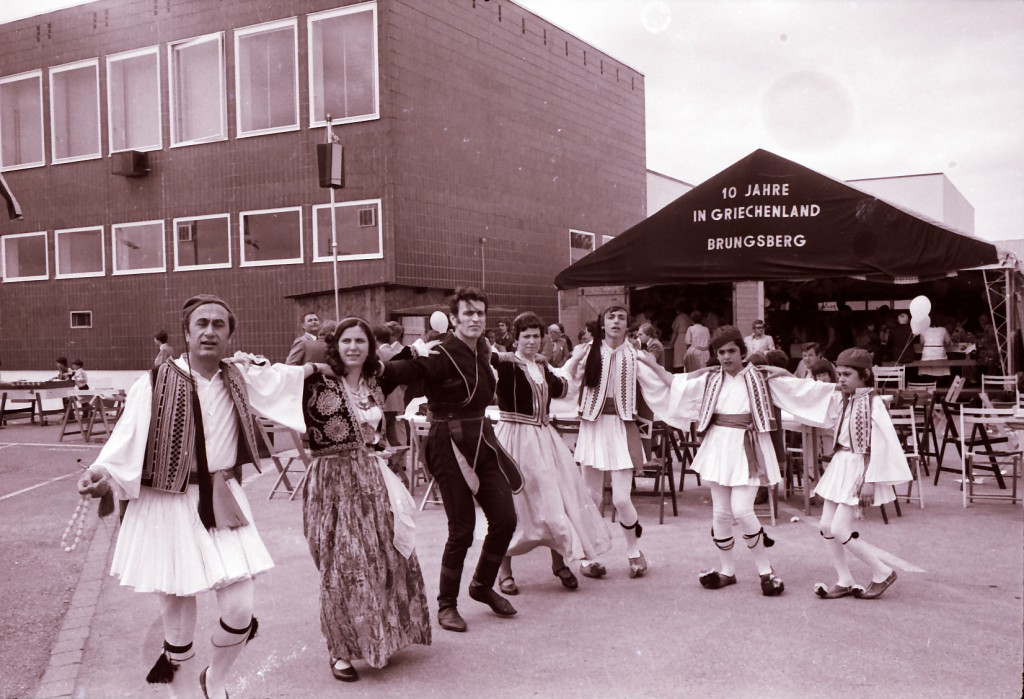 Fest anlässlich des zehnjährigen Bestehens der Kleiderfabrik in Wulfen