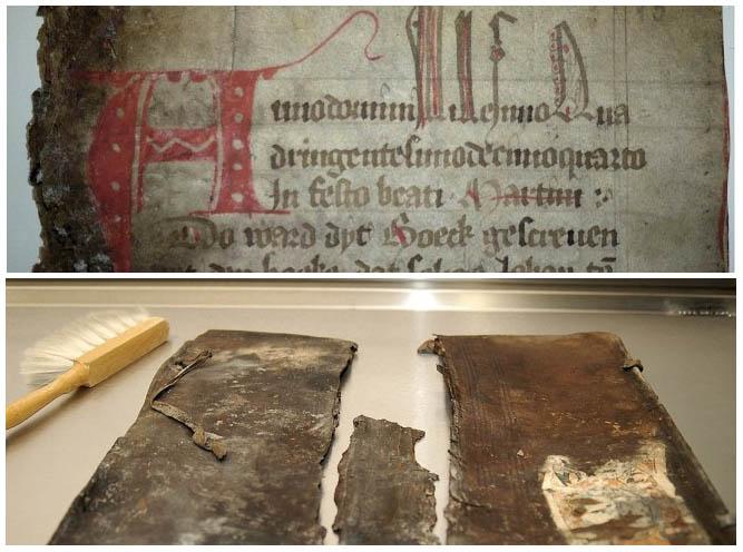 Zu restaurierendes Bürgerbuch
