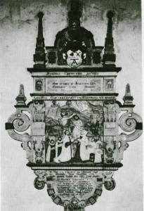 Epitaph Koel in der Agathakirche