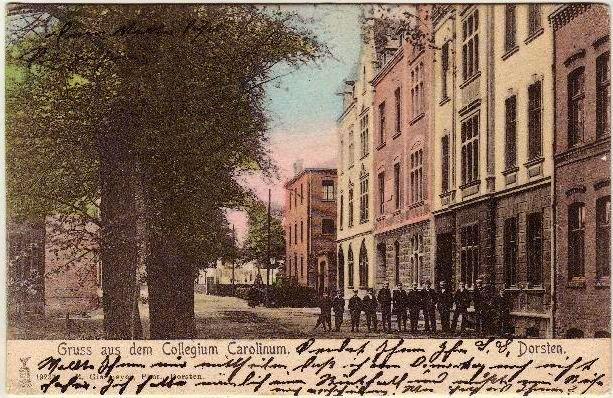 Gebäude Carolinum 1905
