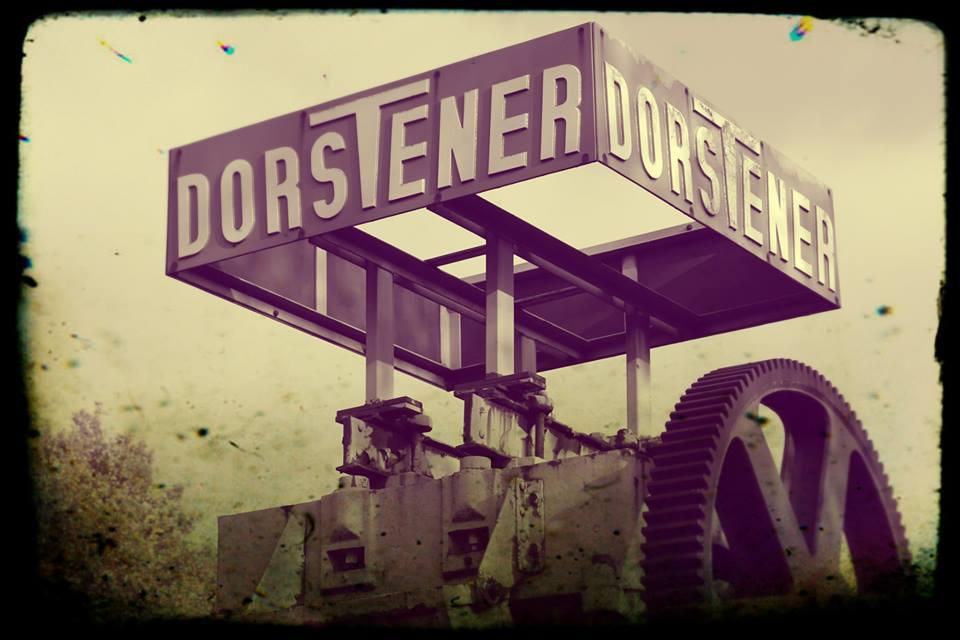 Früher vor dem Eingang der Dorstener Maschinenfabrik (Eisengießerei)