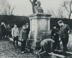 Hindenburg-Denkmal (heute verschwunden)