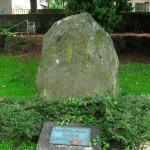 Denkmal für Kriegsgefangene und Vermisste am Westgraben; Foto: Stegemann