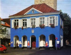 Das blaue Rathaus
