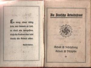 Arbeitsbuch der DAF