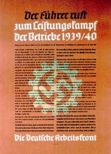 DAF-Plakat 1939/40