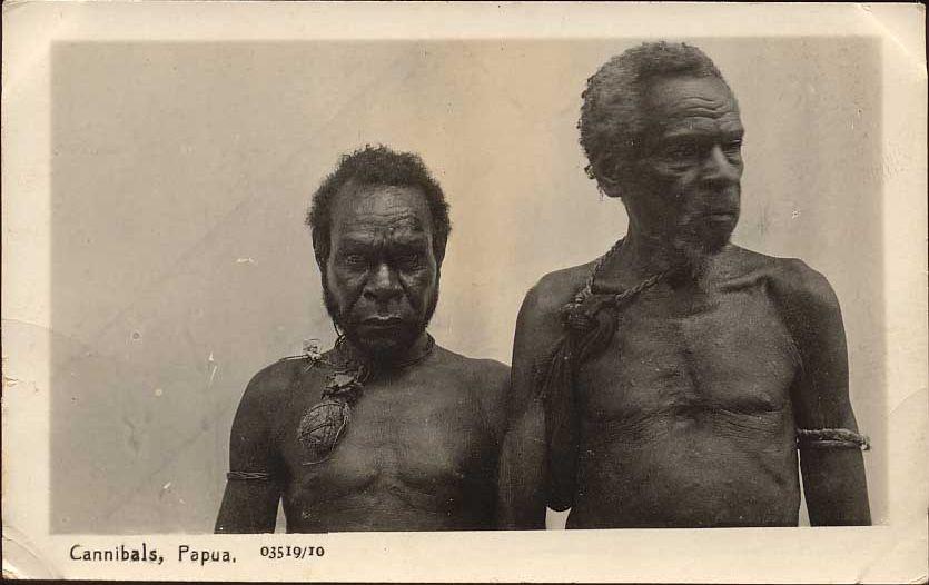 Kannibalen auf Papua