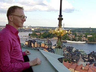 ..... Dierks in Stockholm; Foto: WDR