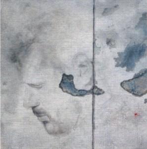 Sandbild-Porträt