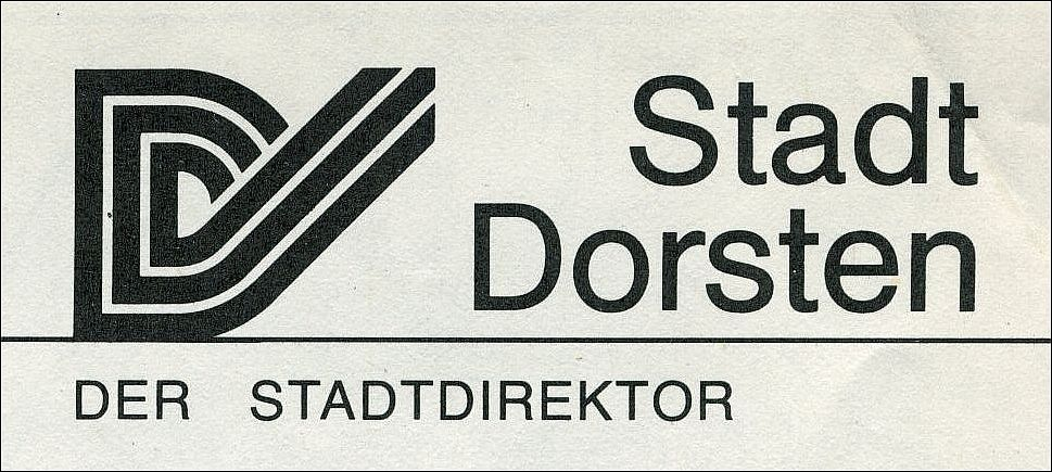 D-Logo im Briefkopf der Stadt