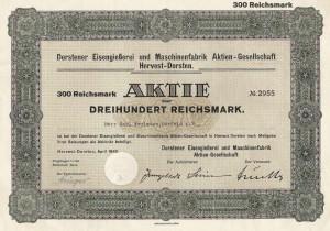 300 Reichsmark-Aktie