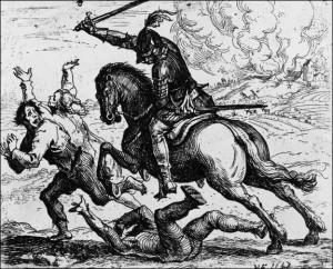 Szene Dreißigjähriger Krieg 1643