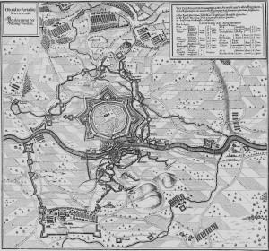 Merian-Stich Festung Dorsten 1642