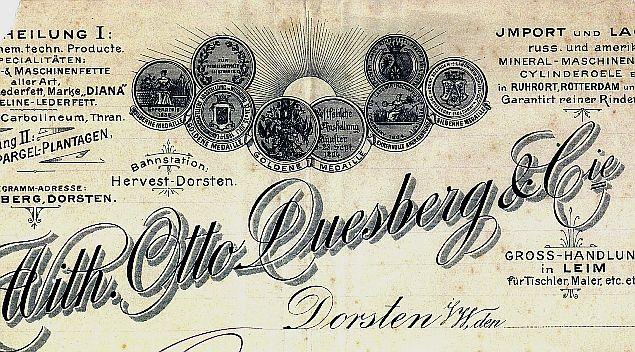 Briefbogen 1895