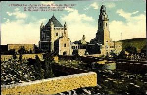 Jerusalem, Marienkirche auf dem Zion