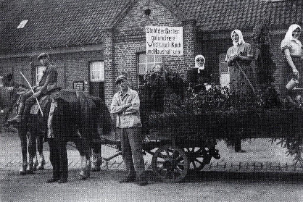 Erntewagen im Emmelkamp 1936