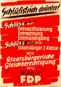Plakat der FDP