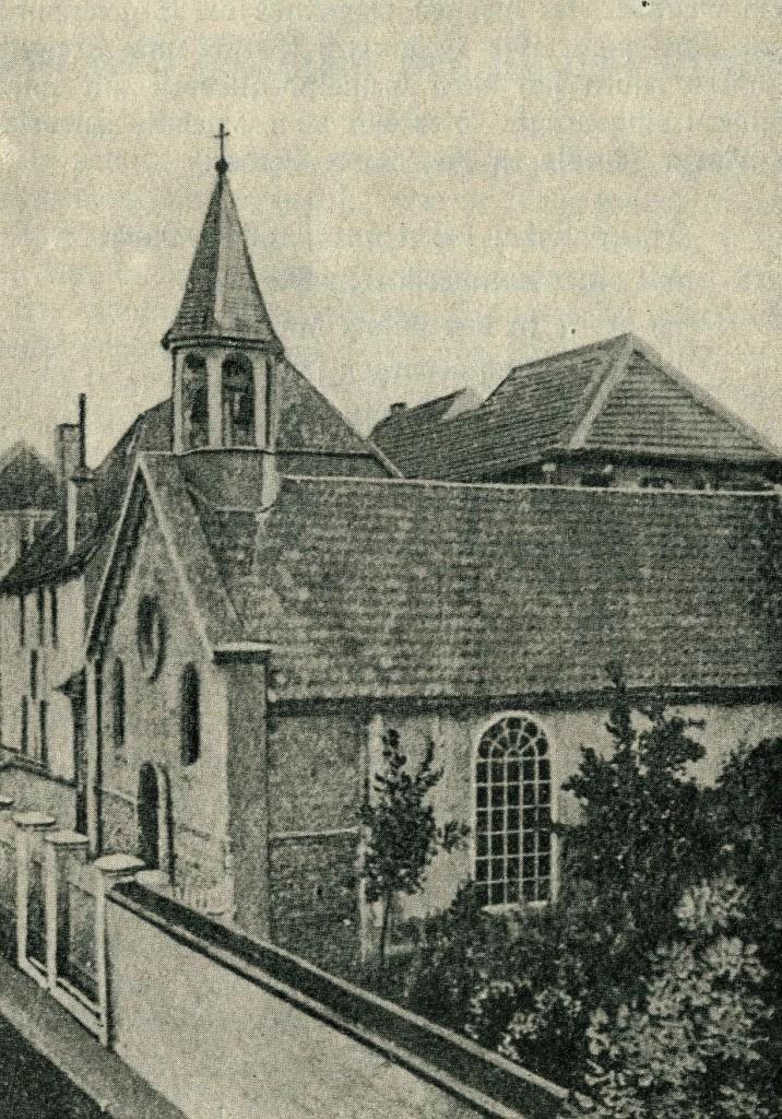 Erster Kirchensaal an der Recklinghäuser Straße