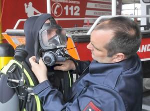 Tauchergruppe der Feuerwehr; Foto: WAZ