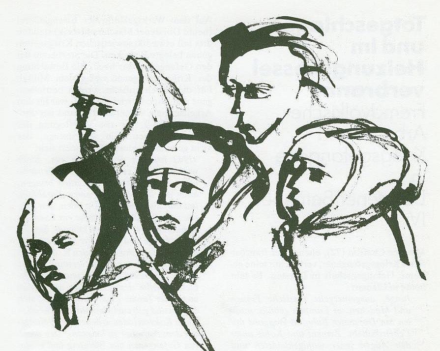 Zeichnung von Tisa von der Schulenburg