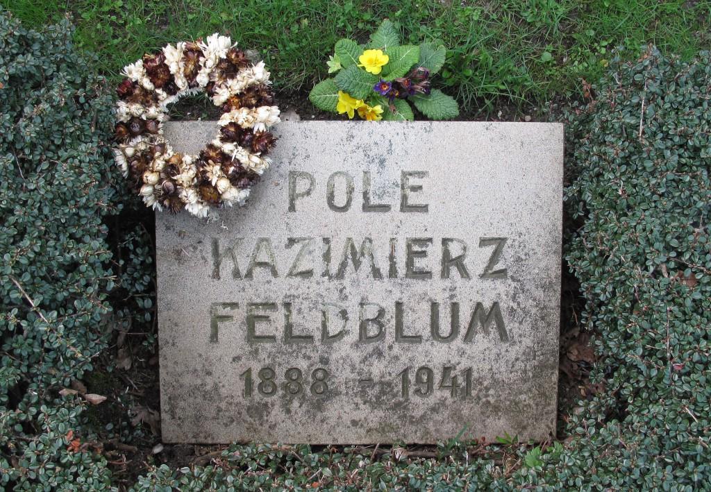 Grabstein auf dem Agathas-Friedhof