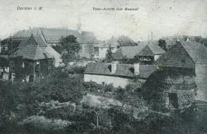 Mauer- und Turmreste am Westgraben