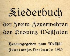 Liederbuch 1925