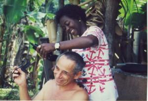 Antonio Filippin auf den Seychellen; Foto: Wolf Stegemann