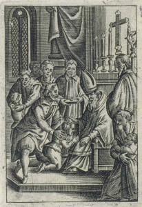 Bischof auf Firmungsreise