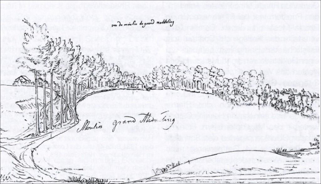 Midlicher Mühlenteich; Archiv Heimatverein Lembeck