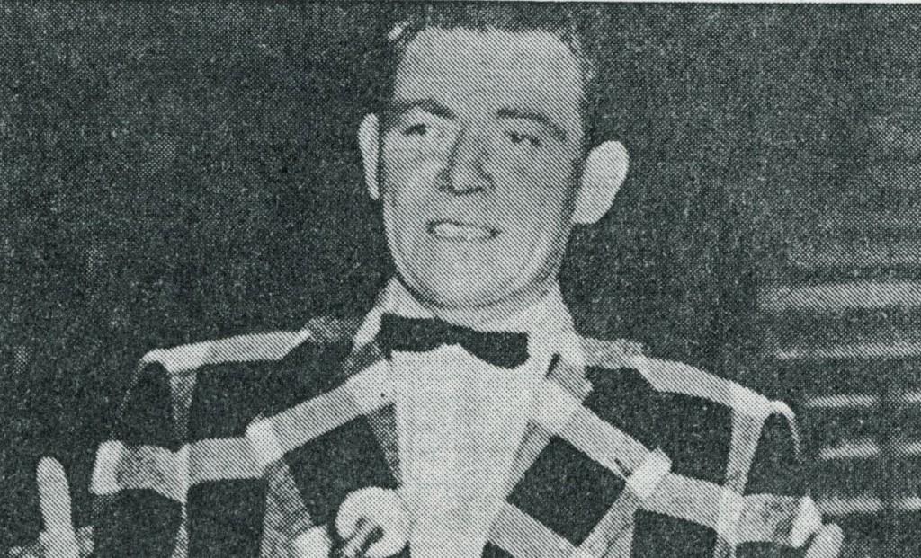 Peter Frankenfeld; Zeitungsbild
