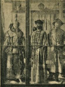 Franziskaner-Museum: chinesische Gewänder