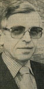 Pfarrer Joseph Frindt (Zeitungsbild)