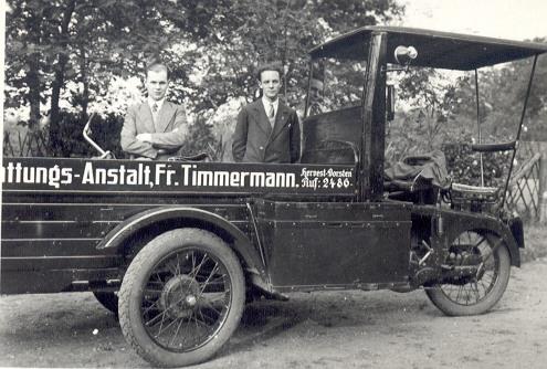 Überführungswagen Timmermann