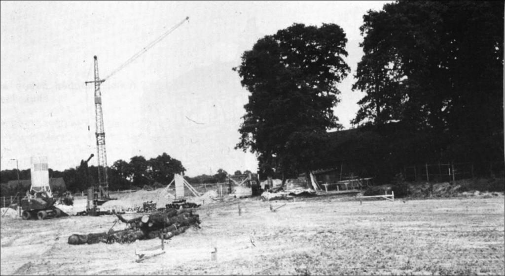 Bau der Gerhart-Hauptmann-Schule
