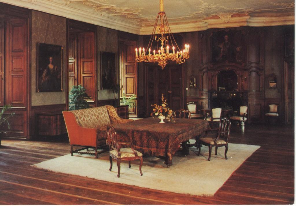 Schlaunsche Festsaal, früher Wohnzimmer der Familie
