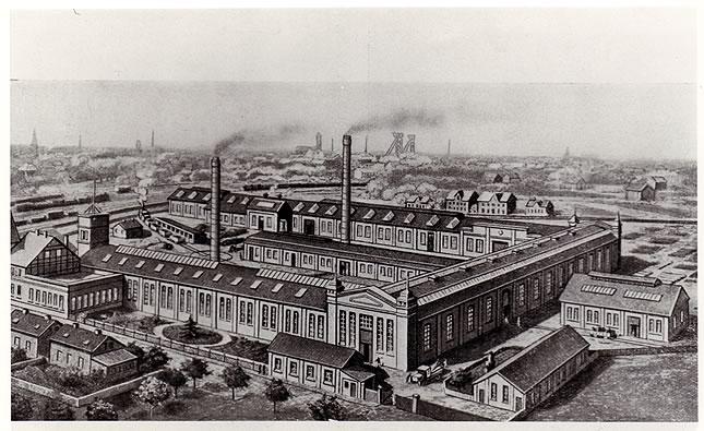 Eisengießerei 1910