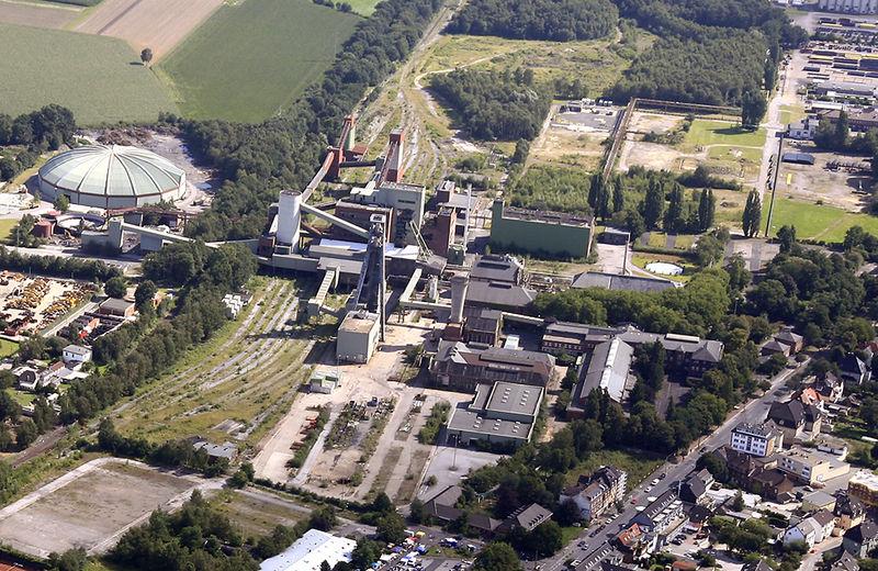 Zechengelände 2007; Foto: RVR Essen