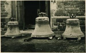 Glockenabnahme St. Agatha 1942