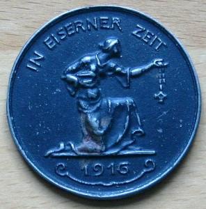 Gold für Eisen 1916