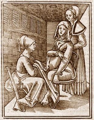 Hebamme im Mittelalter