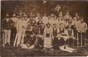 Richtfest in der Baldur-Kolonie 1911