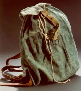 1945 verwendeter Hamsterrucksack