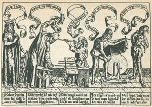 Handwerker, 14. Jahrhundert