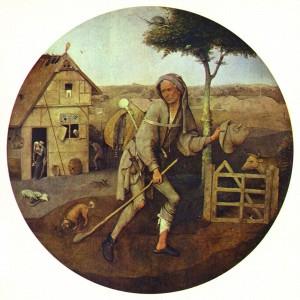 Hausierer, Bild von Hieronymus Bosch